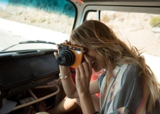 Prise de vue Leica Sofort